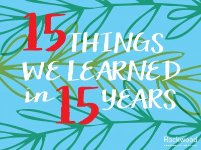 """15 Things We Learned in 15 Years"" eBook + Blog Post"