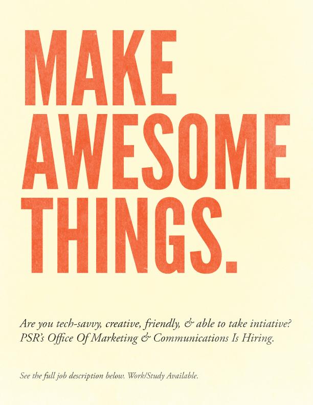 Make Awesome Things